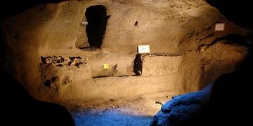 İranda 2 bin yıllık yeraltı şehri bulundu