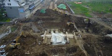 Çinde gömülen Ming Hanedanı köprüsü çıkarıldı