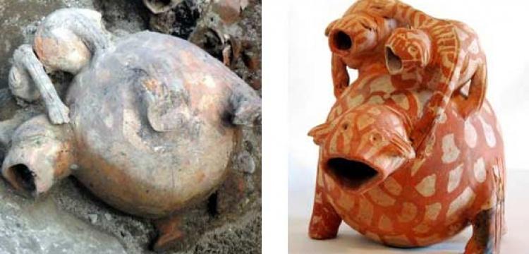 5 bin yıllık tarihi eserlere yansıyan Kurbağa göçü