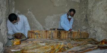 Mısırda 3500 yıllık mumyalar bulundu
