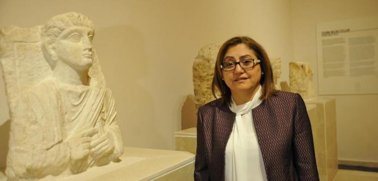 Başkan Fatma Şahin Gaziantep'ten çalınan tarihi eserlerin peşinde