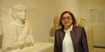 Başkan Fatma Şahin Gaziantepten çalınan tarihi eserlerin peşinde