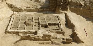 Mısırda 4000 yıllık Mezar Bahçesi bulundu