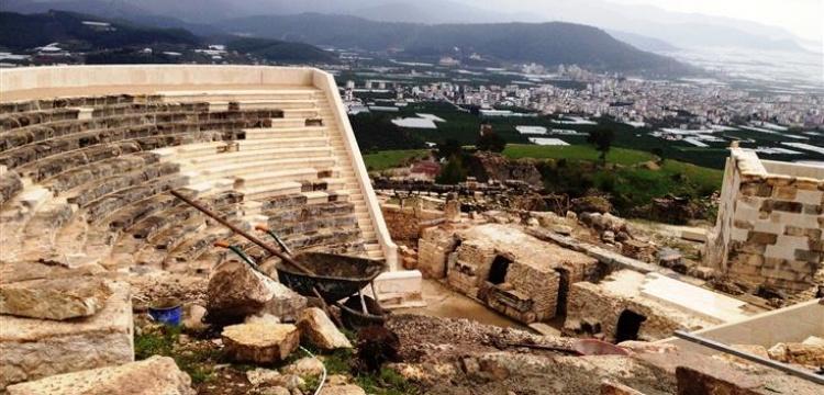 Rhodiapolis'teki hatalı restorasyon TBMM'ye soruldu