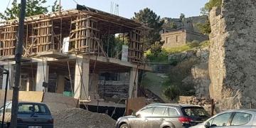 Arkeolojik SİT alanındaki otel mühürlendi