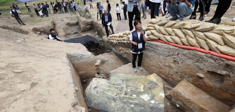 Kore'de 1.500 yıl önce insan kurban edildiği şüphesi