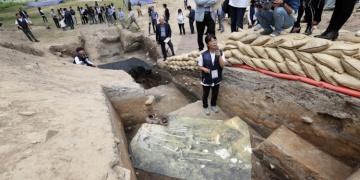 Korede 1.500 yıl önce insan kurban edildiği şüphesi