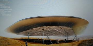 Göbeklitepe yeni çatısı ile böyle görünecek
