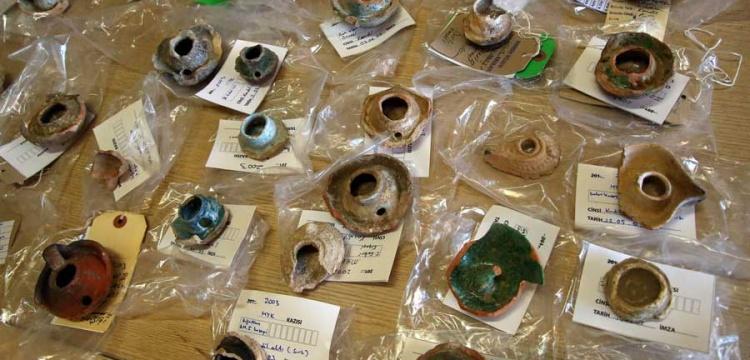 Kültür İnanç Parkı'nda bulunan arkeolojik eserler temizlendi