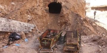 Ardahanda bulunan Rus Subayının Mezarı Karsa taşındı