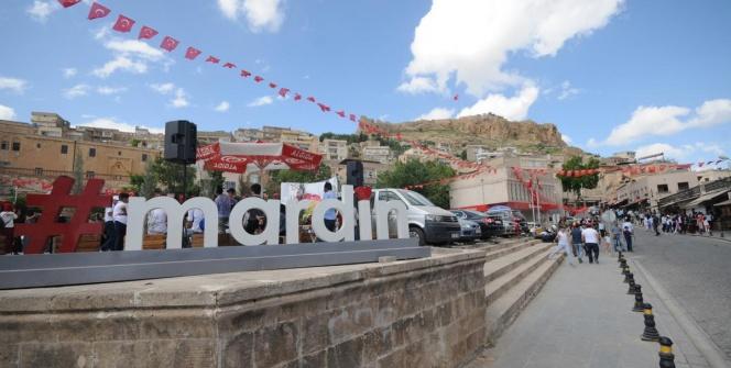 Mardinde ziyaretçi yoğunluğu