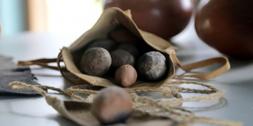 8.500 yıllık aerodinamik özellikli sapan taşları bulundu