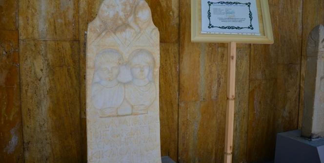 Malatya Arkeoloji Müzesinin en popüler mezar taşı