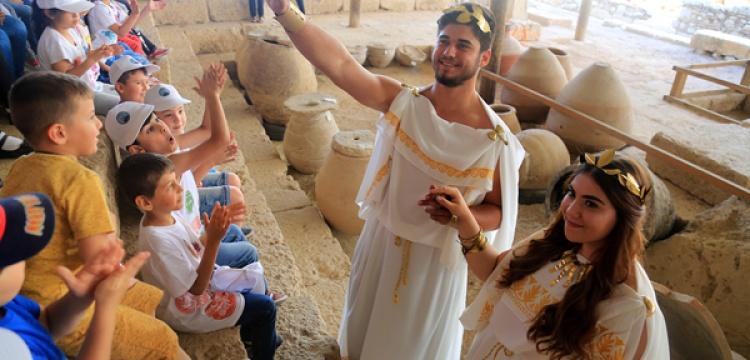 Antik Hekatomnos lahdi sahnesi canlandırıldı
