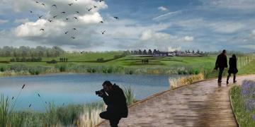 Hitit Barajı ve Arkeoparkın yüzde 65i bitirildi