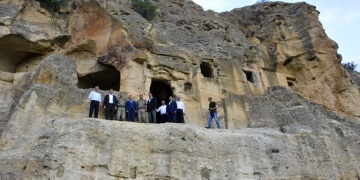 Kolonları kesilen Çakırkaya Manastırında restorasyon yapılacak