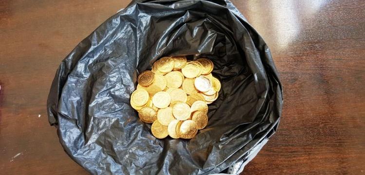 Sahte altın sikkeleri tarihi eser diye satmaya çalıştılar
