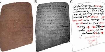 İsrailli arkeologlar, gözle görülemeyen yazıyı okumayı başardılar