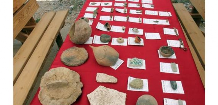 Harput Kalesinde yeni arkeolojik eserler bulundu