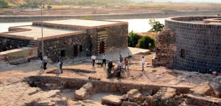 Cizre İçkale'de 2017 arkeoloji kazıları başladı
