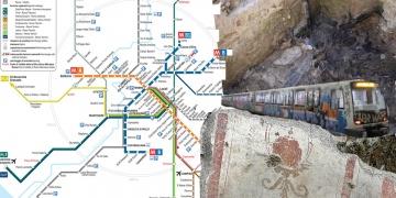 İtalyada metro inşaatında yanmış arkeolojik kalıntılar bulundu