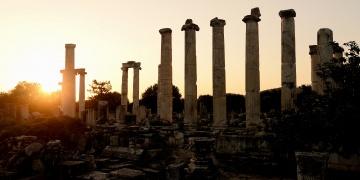 Aşk ve güzellik tanrıçası Afrodite adanan kent: Afrodisyas
