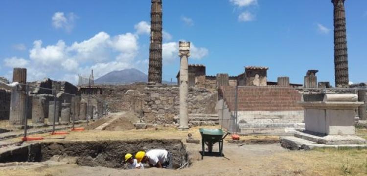 Pompeii arkeoloji kazıları çok kültürlülüğü işaret ediyor