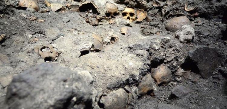 Azteklerin kurukafadan ördüğü dehşet kulesi