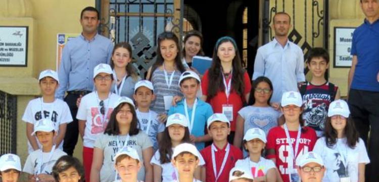 HİTÜ Çocuk Üniversitesi Arkeoloji Atölyesi ile başladı