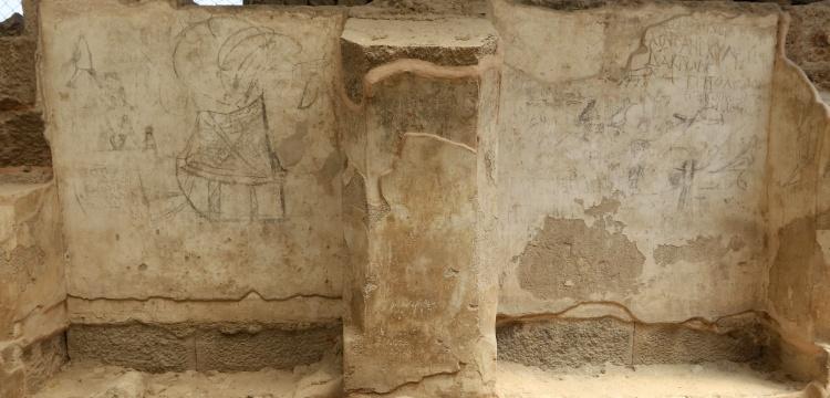 Doç. Dr. Akın Ersoy, İzmir Agorasının duvarlarındaki grafitoları anlattı