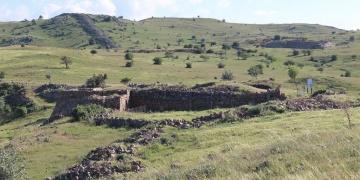 Kerkenes Harabelerinde 2017 arkeoloji kazıları tamamlandı
