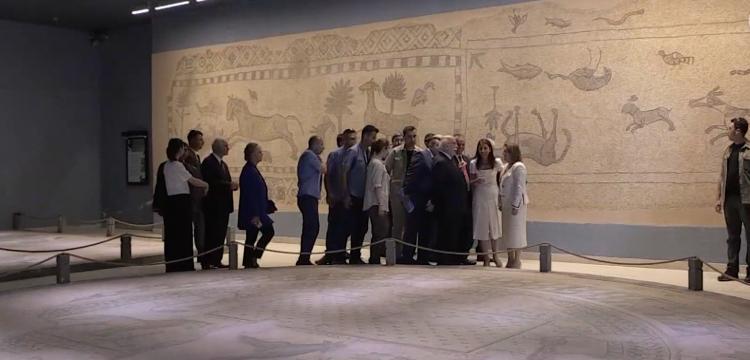 Çingene Kızı Mozaiklerinin parçaları yarın ziyarete açılacak
