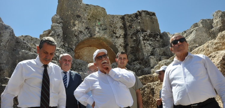 Vali Kalkancı, Bakan Avcı'dan arkeoloji müzesi istedi