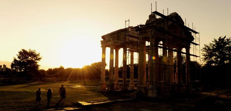 Afrodisias Antik Kenti'nde yangın alarmı