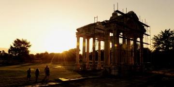 Afrodisias Antik Kentinde yangın alarmı