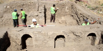 Harputun tarihi mahallesi için arkeoloji kazıları