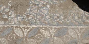 Definecilerin tahrip ettiği Bizans mozaiğine restorasyon ve konservasyon