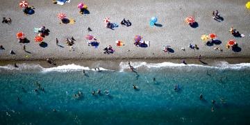 Antalya sahilleri hem güzel hem emniyetli
