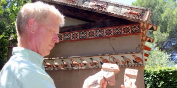 Prof. Nicholas Cahill Sardes kazılarını ve Lidya kültürünü anlattı