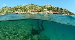 Kekova batıklarında su altı arkeolojisi çalışmaları sürüyor