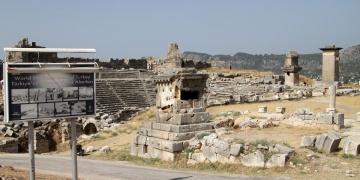 Xanthos Antik Kenti 2018 arkeoloji kazıları başladı