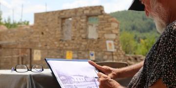 Stratonikeia arkeoloji kazılarına hayat veren ressam