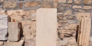 İmparator Gallienusun mektubu Side Müzesinde replikası cafede