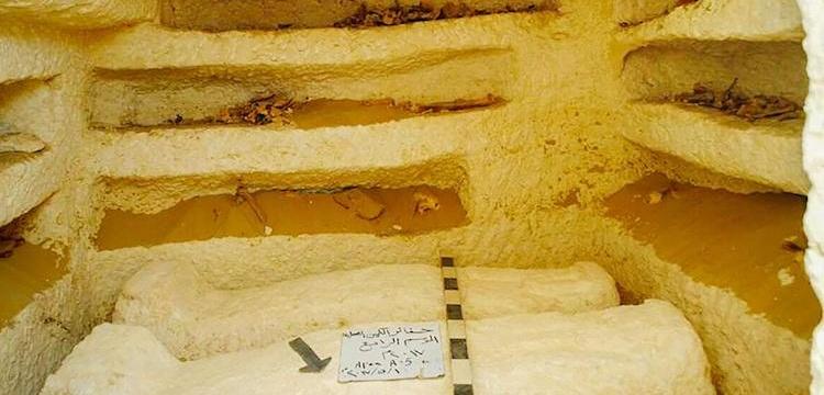Mısır'da 3 yeni kaya mezarı bulundu