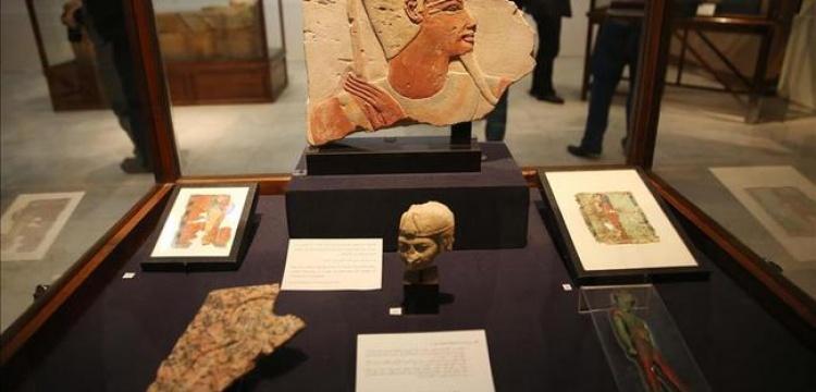 Mısır'da bir evde 890 parça tarihi eser yakalandı