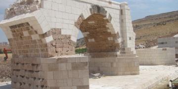 Septimius Severus Köprüsünde restorasyon bitmek üzere