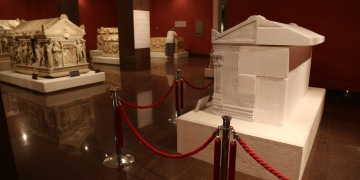 Antalya Arkeoloji Müzesinde Heraklesin yeri hazır