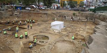 Beşiktaş Arkeoloji Kazı Alanı açık hava müzesi olacak