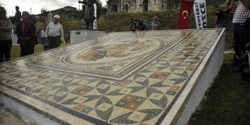 Konuralp Arkeoparkı törenle açıldı
