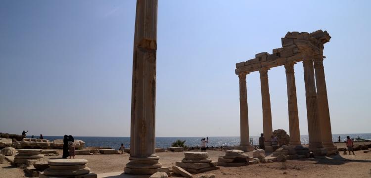 Side'deki Apollon ve Athena Tapınakları restore edilecek